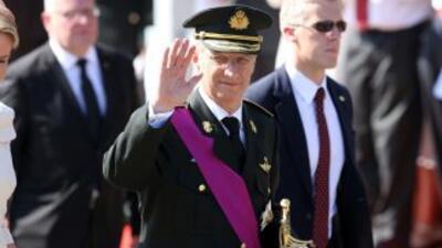 El nuevo rey de los belgas, Felipe.