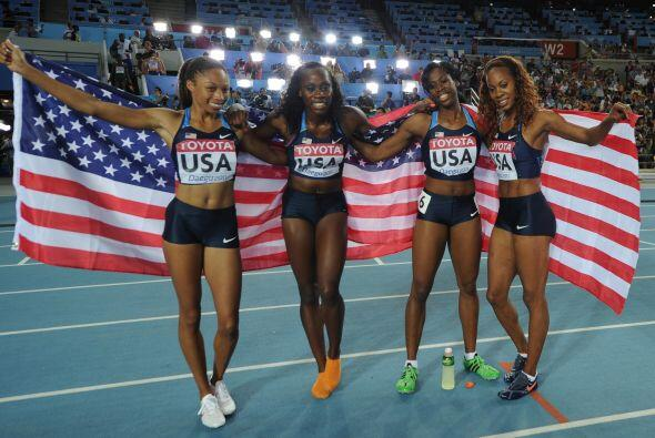 Las chicas de Estados Unidos y toda su belleza.