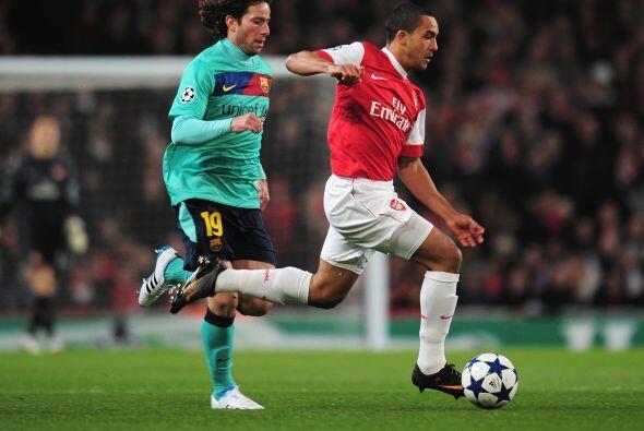 Aunque no marcó gol en el sorprendente triunfo del Arsenal, fue un dolor...