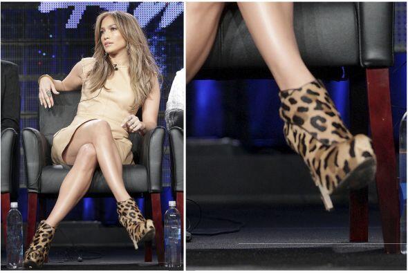 Otra que se inclinó por esta combinació fue Jennifer Lopez...