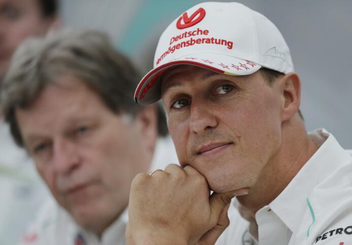 5. Michael Schumacher (Automovilismo) - 1,100 millones de dólares