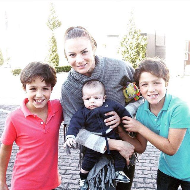 Silvia Navarro familia