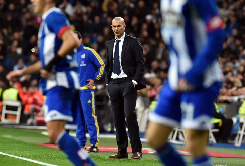 'Zizou' debutó el 8 de enero de 2016 en el juego ante el Deportiv...