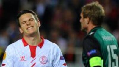 El Sevilla no pensaba sufrir un resultado como el que se dio en el prime...