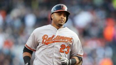 Nelson Cruz fue la bujía de los Orioles de Baltimore.