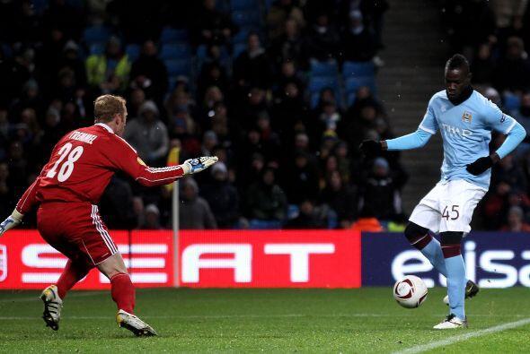 Distinta suerte tuvo el Manchester City en su encuentro ante el Red Bull...