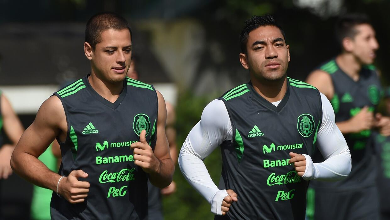 Marco Fabián quiere seguir los pasos de Hernández