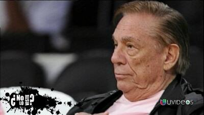 No Lo Viste: el hombre que causó indignación en la NBA y en el país