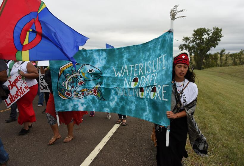 Protestas de nativos obligan a Obama a revisar el trazado de un oleoduct...