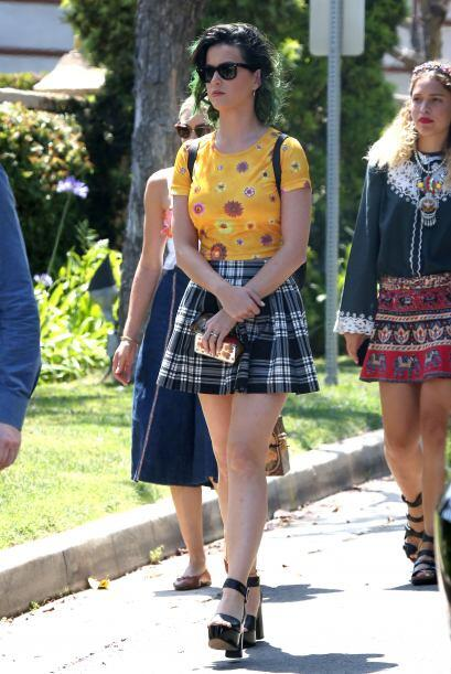 Las piernas que no necesitan presentación son las de Katy Perry. ¡Unicas...