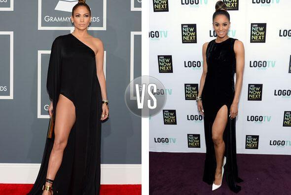 Jennifer Lopez y Ciara parecen dos gotas de agua con sus sensuales vesti...
