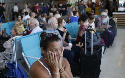 Sarai Class esperó más de dos días en el aeropuerto...