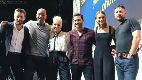 Will Smith, Joel Edgerton, Noomi Rapace, Lucy Fry y Edgar Ramirez estuvi...