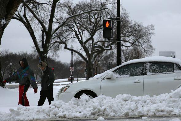 Precaución en los cruces peatonales. No sólo hay que esqui...
