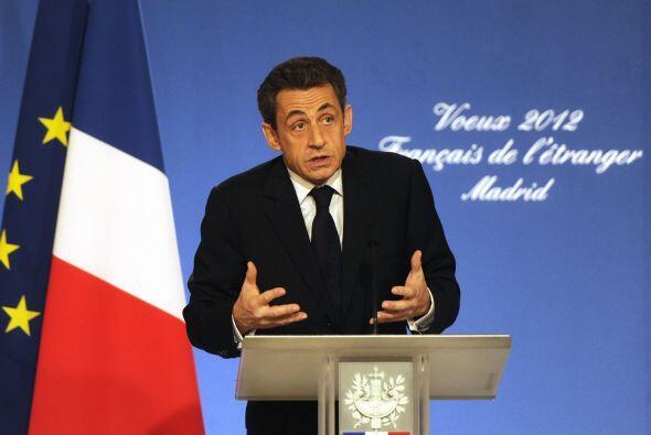 El presidente francés, Nicolas Sarkozy, restó importancia...