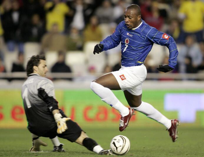 Edwin Congo fue el segundo colombiano en jugar con el Real Madrid en 199...