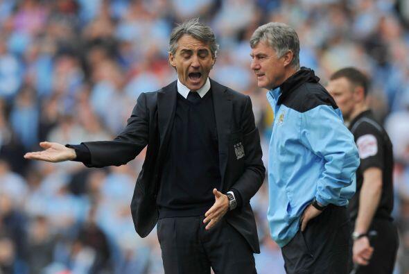 El entrenador Roberto Mancini no sabía cómo revolucionar a sus jugadores...