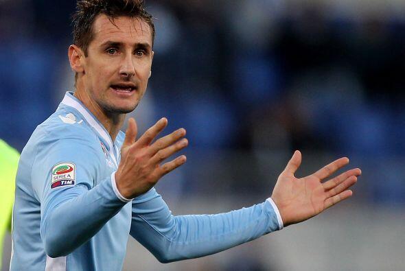 Miroslav Klose, goleador histórico de Brasil 2014 y de la Lazio, quiere...