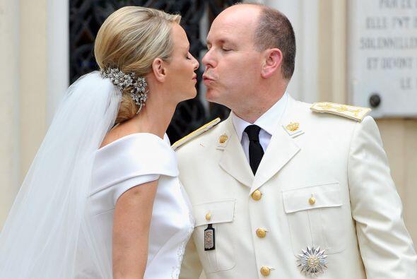 Y así, el príncipe Alberto II de Mónaco dejó...