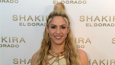 Shakira en la fiesta de lanzamiento de su onceavo disco de estudio, El D...