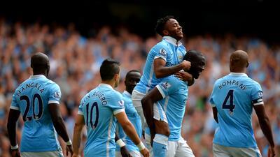 Sterling marcó uno de los goles del Manchester City ante el Watford.
