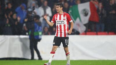 ¡Doblete diabólico! Con estos goles, 'Chucky' Lozano colaboró en goleada del PSV