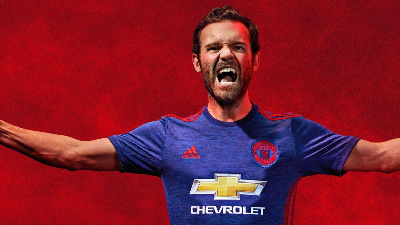 Esta es la nueva playera que usará el Manchester United