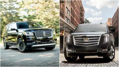 Sea usted el juez: Lincoln Navigator vs. Cadillac Escalade