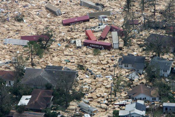 Este jueves se cumplen ocho años de que el huracán Katrina...