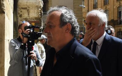 Platini fue presidente de la UEFA del 2007 al 2015.