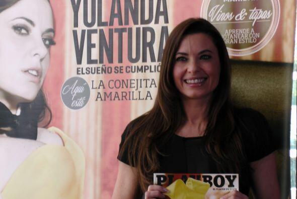 Desde luego, Yolanda sabe que su público aún recuerda su etapa en el gru...