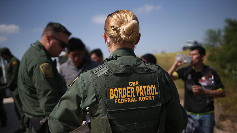 Agentes de la Patrulla Fronteriza en Texas.