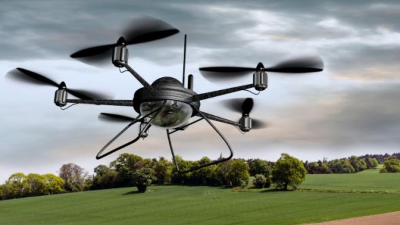 Los drones son cada vez más comunes para el uso civil.
