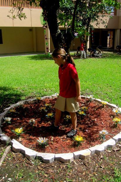 Los alumnos aprendieron una lección de ecología con este proyecto.
