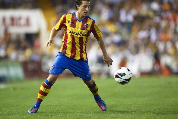 En la fecha 33  Espanyol con Moreno y Valencia con Guardado en el campo...