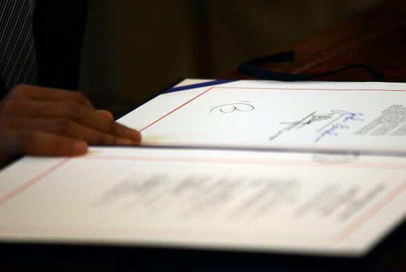 A la esperada firma no asistieron ni el presidente de la Cámara de Repre...