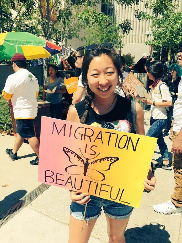 """""""La inmigración es hermosa""""."""