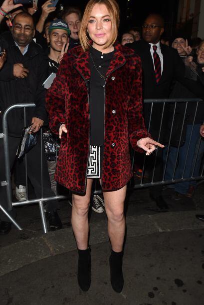 Incluso, Lohan tomó clases especiales para se debut en el teatro.