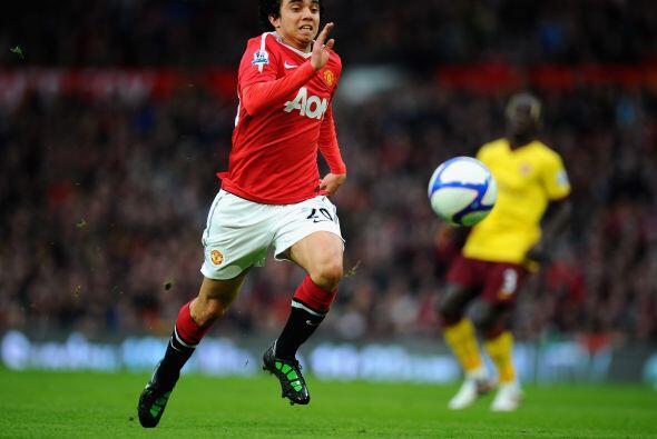 Además de su gran actuación, marcó el primer gol del United para la vict...