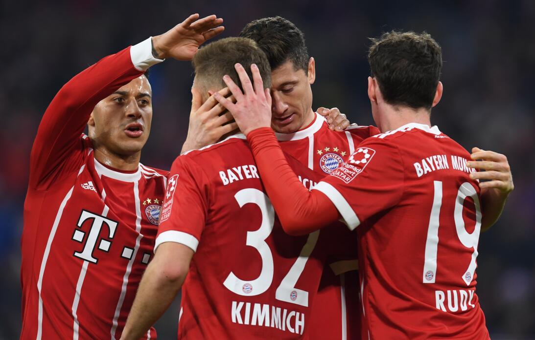 4. Bayern Múnich (Alemania) - 722,6 millones de dólares