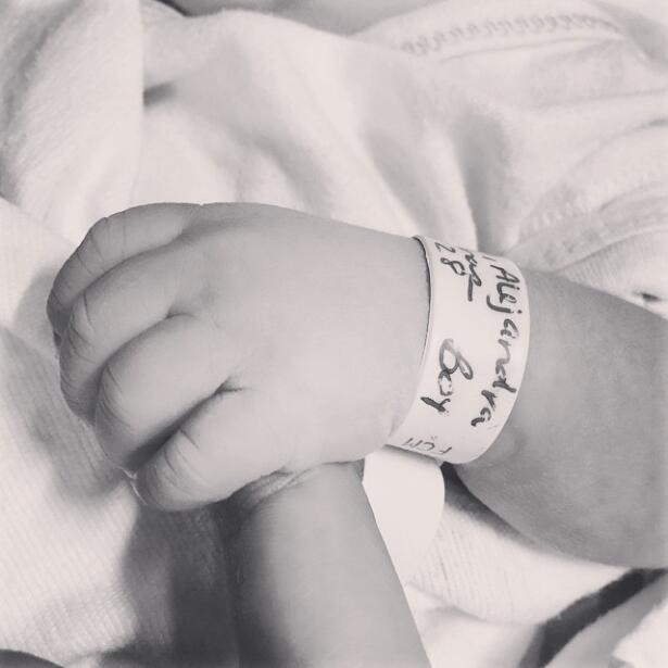 Alejandra Espinoza embarazo