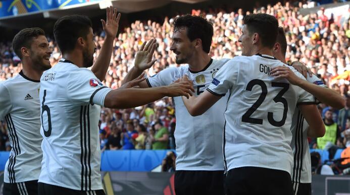 Alemania sin apuros mientras Francia sufre