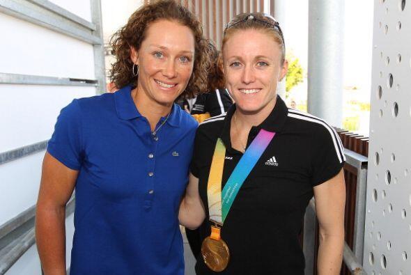 Samantha Stosur, campeona del US Open, y Sally Pearson, medalla de oro e...