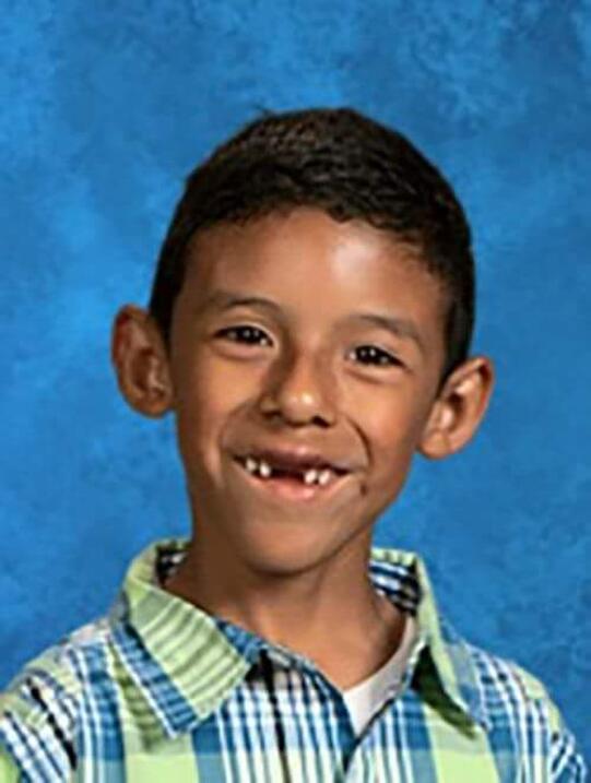 Jonathan Martínez, el niño de 8 años que falleció en el tiroteo en la es...
