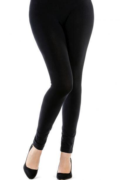 Cómoda y chic. Las leggings son un gran recurso para lucir tu jersey de...