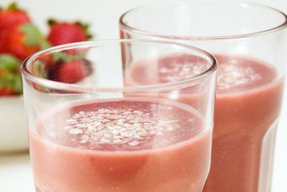 Frozen de frutillas  Este batido combina los nutrientes de las fresas o...