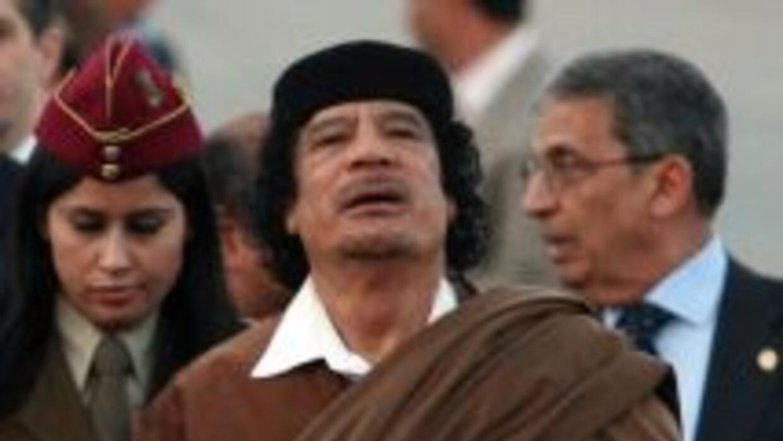 La manera con que EU trata a Gadafi, es distinta de cómo se relaciona co...