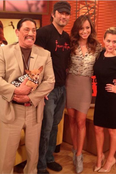"""""""#Hollywood en @despiertaamericatv @robertrodriguez #DannyTrejo y #..."""
