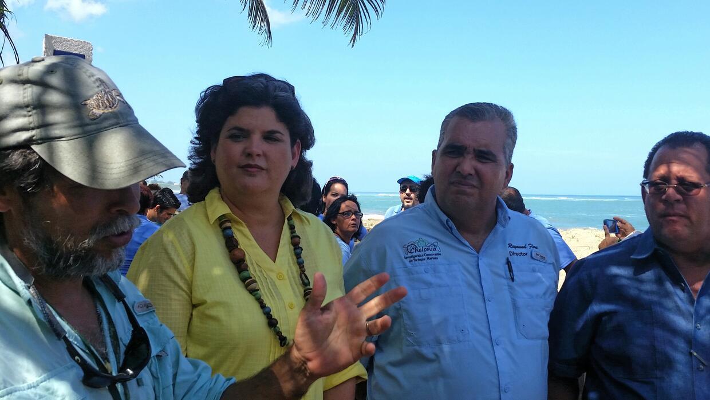 Carmen Guerrero, Secretaria del DRNA