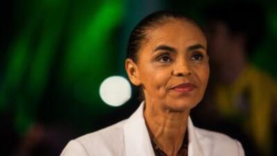 La ecologista Marina Silva.